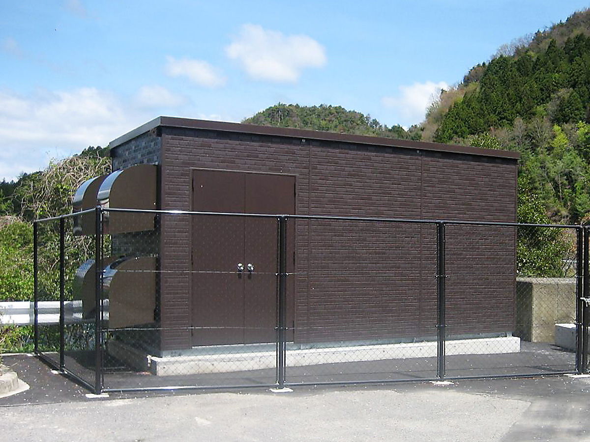 太陽光発電用局舎