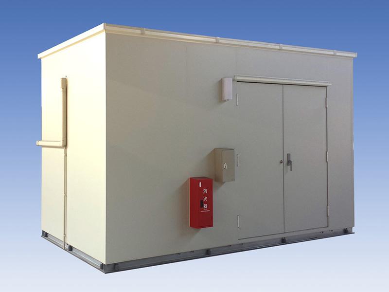 蓄電池収納用局舎